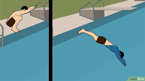 How To Dive by Einen Kopfsprung Ins Schwimmbecken Machen Wikihow