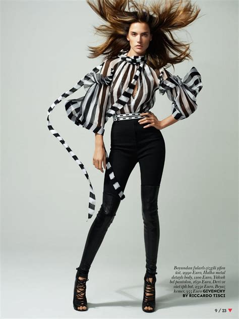 Alessandra Ambrosio – Vogue Magazine (Turkey) March 2015 ...