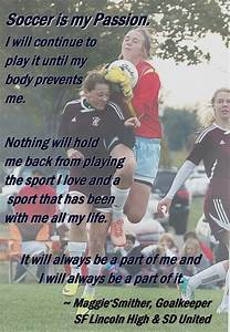 Soccer Is My Passion Quotes. QuotesGram