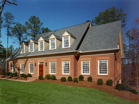 brick colonial house plans historic homes colonial brick pictures to pin on