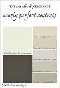 what are the neutral colors Transitional Paint Color Palette (Color Palette Monday #3)..