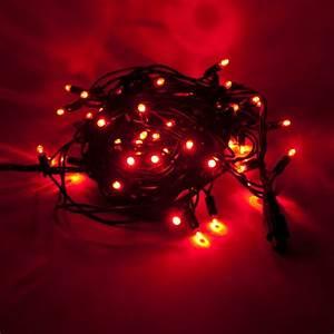 Weihnachtsstern Außen Led : led profi lichterkette 120er led rot f r au en von deco ~ Watch28wear.com Haus und Dekorationen