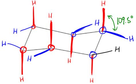 Chair Cyclohexane Axial Equatorial by Cyclohexane Axial And Equatorial Organic