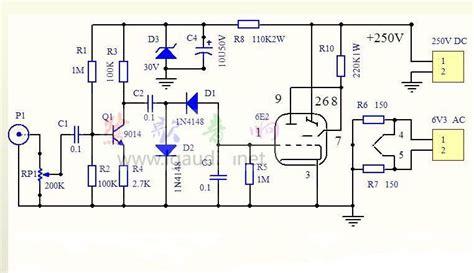 1pcs magic eye tuning vu meter indicator bare pcb board for em80 6e2 em87 em81 em84 6e5c