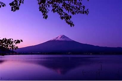 Fuji Mount Wallpapers Mountains Chromebook Nature Pixel