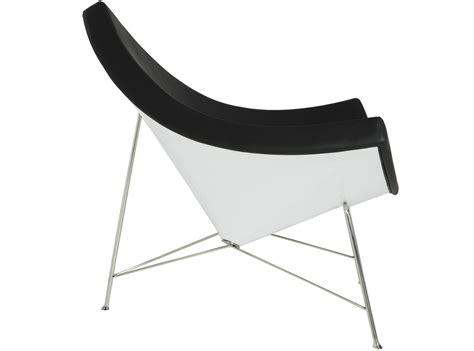 nelson coconut chair replica aniline leather 009 ani bla