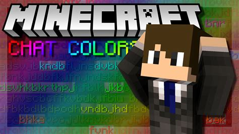 minecraft chat colors how to change chat color in minecraft permanently