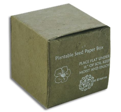 seeded favor boxes