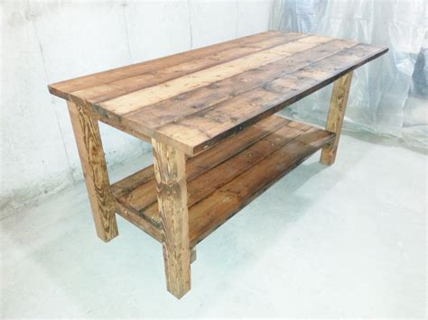 kitchen island made from reclaimed wood buy a crafted reclaimed wood kitchen island made to