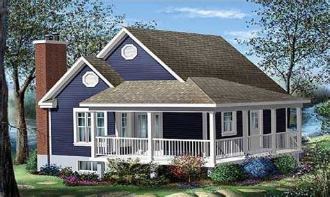cottage house plans  wrap  porch cottage house plans  porches open floor plan