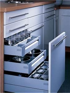 Tiroir De Cuisine : tiroirs de cuisine compartiment tage en coin et plus ~ Teatrodelosmanantiales.com Idées de Décoration