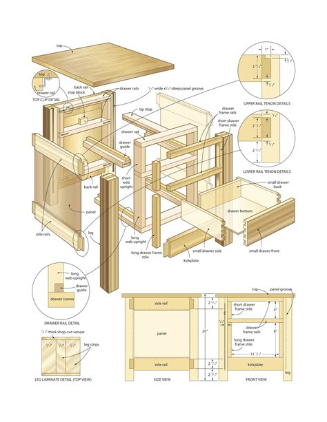 woodworking plans  table