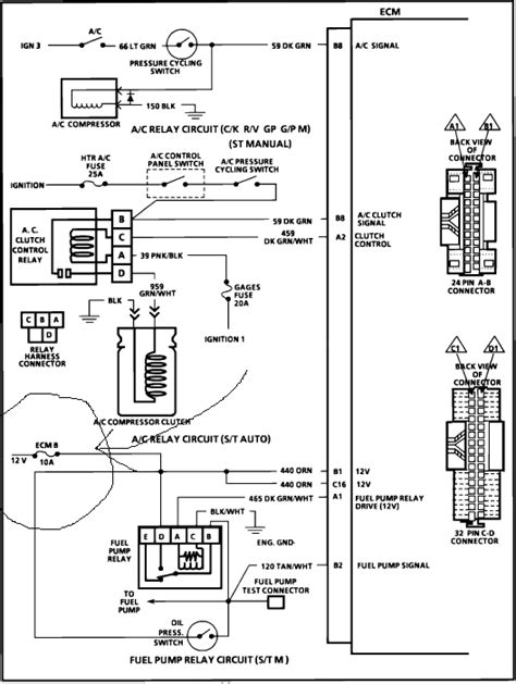 1987 S10 2 8 Engine Wiring Diagram by 1990 Chevy Blazer No Power To Headlights All Interior