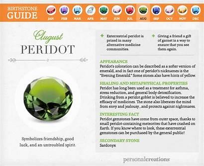 Birthstone Birthstones Month August Peridot Guide Cool