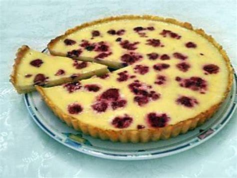 foodies recette cuisine recette de tarte au citron et framboises