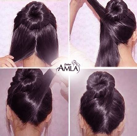 Hairstyles For Normal by Gorgeous Hair Styles Dabur Amla