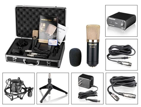 Top Quality Takstar Pc K550 Condenser Microphone System