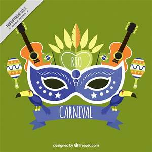 Rio de janeiro carnival background Vector | Premium Download