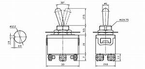 Dpdt Medium Duty Toggle Switch Center Off