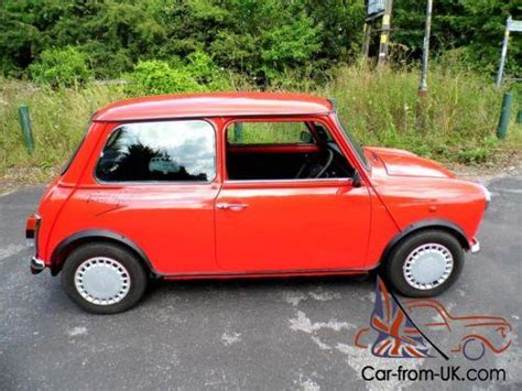 "1988 Classic Austin Rover Mini Red Hot 1300cc And 1""1/2"
