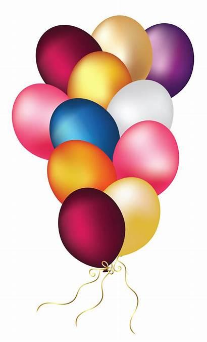 Balloons Transparent Clipart Colorful Balloon Clip Globos