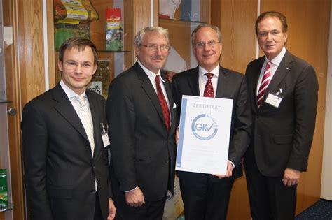 ebk kunststoffe gmbh gkv verhaltenskodex erste unternehmen zertifiziert gkv