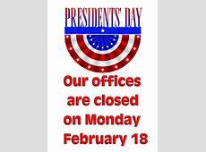 OFFICES CLOSED Neptune Township