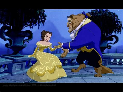 Beauty And The Beast Disney Movie Wallpaper For Ipad
