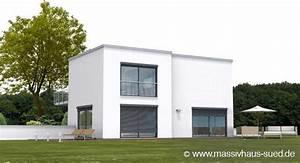 Cube Haus Bauen : kubus 176 modernes haus mit flachdach im baushausstil ~ Sanjose-hotels-ca.com Haus und Dekorationen