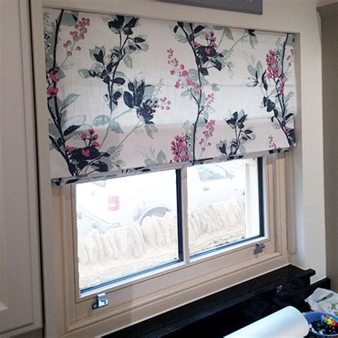 contemporary floral roman blinds gallery  fabrics