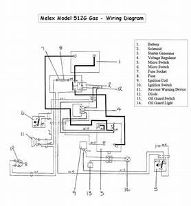 Melex Gas Golf Cart Wiring Diagram