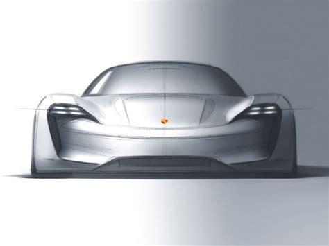 porsche mission e sketch porsche mission e is a sleek futuristic ev car body design