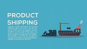 Product Shipping Template For Powerpoint And Keynote
