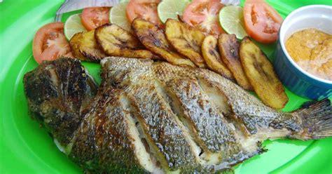recette cuisine malienne dorade au four et marinade aux épices africaines recette