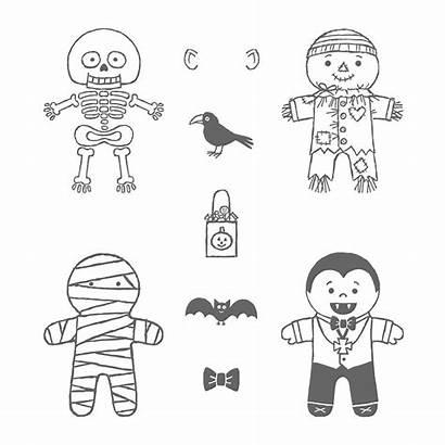 Cookie Halloween Cutter Stamp Mummy Hi Stampin