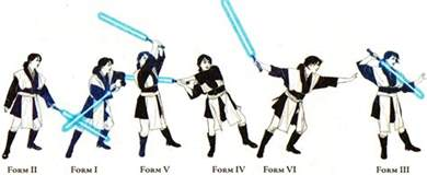 Light Saber Forms by Personalizedfightingform