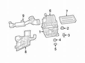 Dodge Avenger Air Filter Housing  2 4 Liter  2 4 Liter