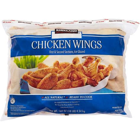 These buffalo chicken wings are ridiculously crispy and best of all they are baked not fried. ventura99: Costco Food Court Chicken Wings Price
