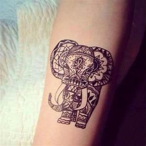 Tattoo Avant Bras : mandala l phant tatoo tatouage avant bras ~ Melissatoandfro.com Idées de Décoration