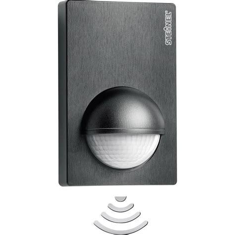 detecteur pour eclairage exterieur d 233 tecteur de mouvements pir steinel 603113 pour l int 233 rieur pour l ext 233 rieur mural relais noir