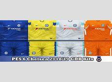 ultigamerz PES 6 Chelsea 201819 GDB Kits