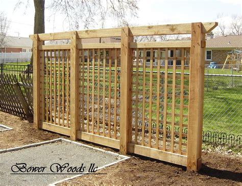 Outdoor Trellis by Garden Lattice Ideas Bower Woods Llc Custom Garden