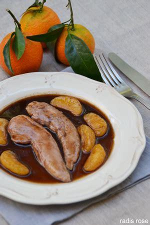 cuisiner aiguillette de canard aiguillettes de canard aux clémentines radis