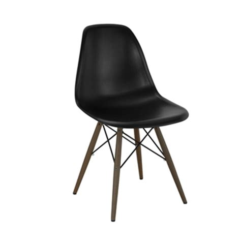 eames eiffel black side chair tablebasedepot