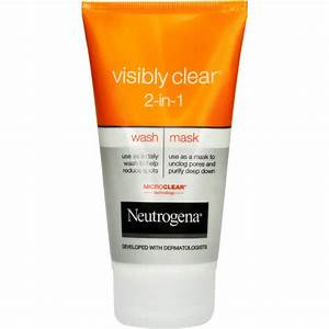 Neutrogena Visibly Clear Waschgel : neutrogena visibly clear 2 in 1 wash mask 150ml clicks ~ Avissmed.com Haus und Dekorationen
