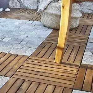 Dalle De Terrasse En Bois : dalle terrasse caillebotis terrasse bois terrasse ~ Dailycaller-alerts.com Idées de Décoration