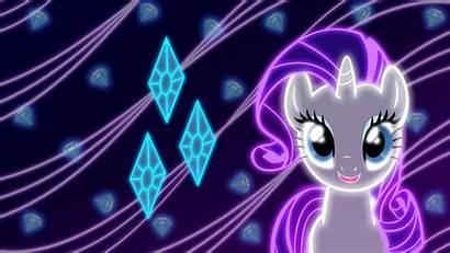 Neon Pony Rarity Magic Friendship Wallpapers Ponies