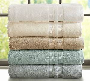 spa quality fresh clean towels at home easy affordable With best pottery barn towels