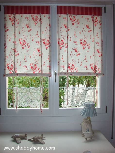 shabby chic curtain tutorial shabby home tutorial come realizzare delle tende shabby chic tutorial how to sew a shabby