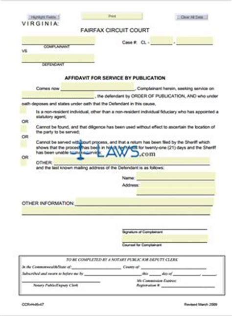 colquitt county divorce by publication forms form ccr h 46 47 affidavit for service by publication